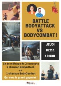 Animation Battle BA vs BC portes ouvertes oceania club mont de marsan