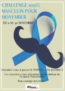 Challenge 100% masculin Movember Océania Club Bayonne