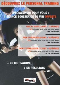 Offre Personal Training spéciale semaine Smart Training de Décembre à Océania Club Bayonne, Dax et Mont de Marsan