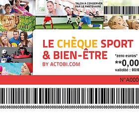 Chèque Sport et Bien-être Actobi Océania Club Bayonne, Dax et Mont de Marsan
