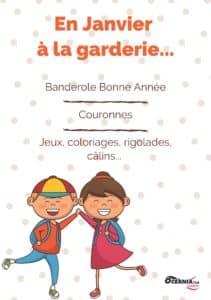 Garderie - Programme du mois de Janvier à Océania Club Bayonne