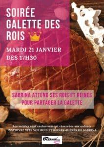 Garderie - soirée Galette des rois à Océania Club Bayonne