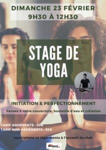 Stage de Yoga à Océania Club Mont de Marsan