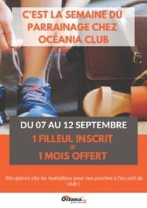 Semaine du parrainage - Océania Club Bayonne, Dax et Mont de Marsan